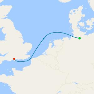 Hamburg to Southampton