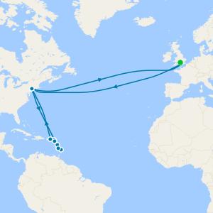 Transatlantic & Caribbean from Southampton