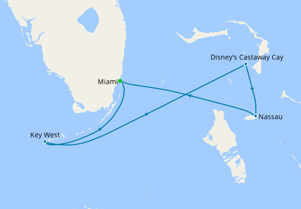 Bahamian Cruise from Miami