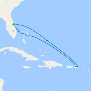 Eastern Caribbean from Port Canaveral with Orlando Stay