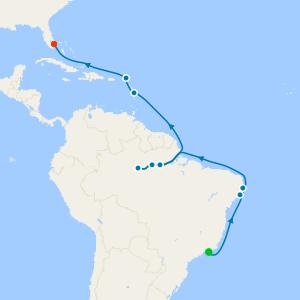 Journey from Ipanema from Rio de Janeiro