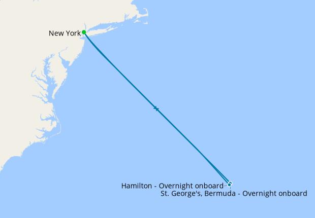 Bermuda Bliss - New York Roundtrip