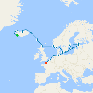 Nordic & Baltic Quest from Reykjavik