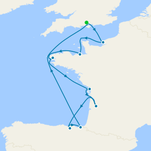 Western Europe Quest - Southampton Roundtrip