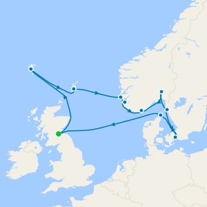 Nordic Trailblazer - Edinburgh (Leith) Roundtrip
