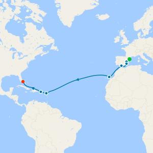 Alluring Atlantic from Monte Carlo
