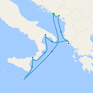 Sail Three Seas & 3 Nt Dubrovnik Stay