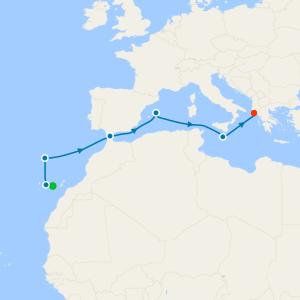 Three Seas Adventure from Gran Canaria to Corfu