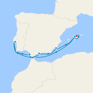 Discover Iberia & 3 Nt Majorca Stay