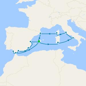 Magic of Spain & Treasures of the Mediterranean from Majorca