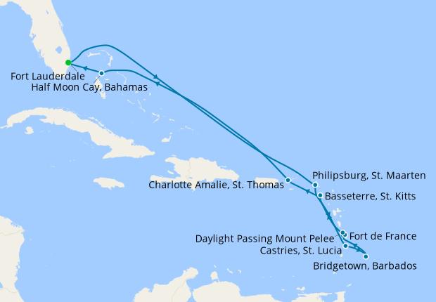 Southern Caribbean Wayfarer from Ft. Lauderdale