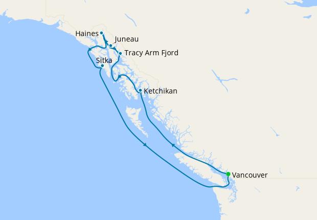 Alaska Glacier Experience from Vancouver