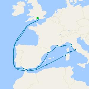 Mediterranean Adventurer from Southampton