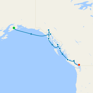 Alaska & Canada from Seward