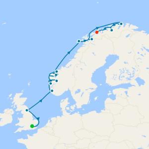Norwegian Fjords from London