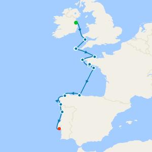 Western Europe from Dublin