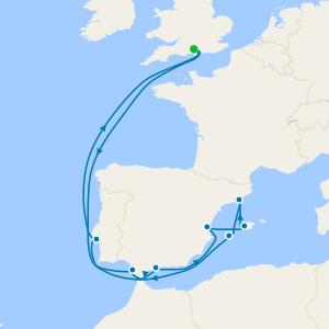 Mediterranean Beaches & Cities from Southampton
