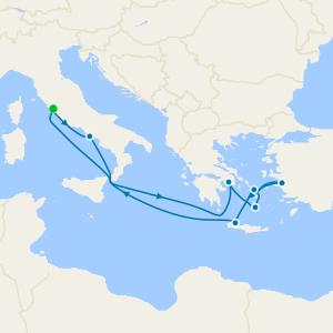 Greek Isles from Rome