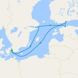 Scandinavia & Russia from Copenhagen