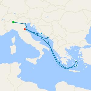 Lake Como and Venice Stays with Greece & Croatia