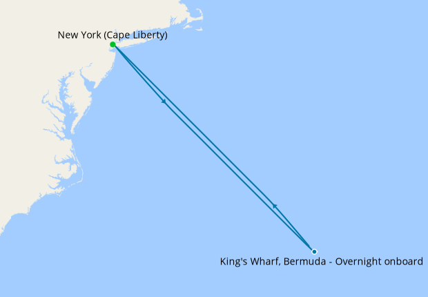 Bermuda Getaway from Cape Liberty