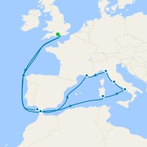 Spain & Italian Mediterranean from Southampton