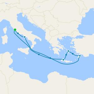 Italy & Greek Isles from Rome