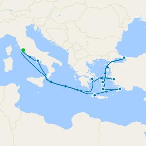 Italy, Turkey & Greek Isles from Rome