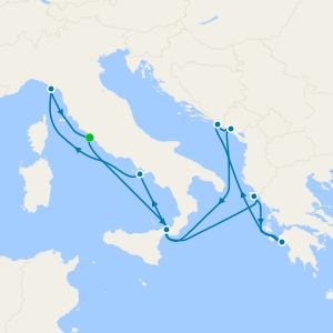 Italy, Croatia & Montenegro from Rome