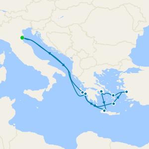 Turkey & Greek Islands from Venice