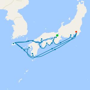 Kyoto Stay, South Korea & Japan Explorer to Tokyo