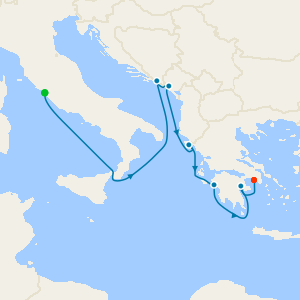 Aegean & Ionian Gems from Rome