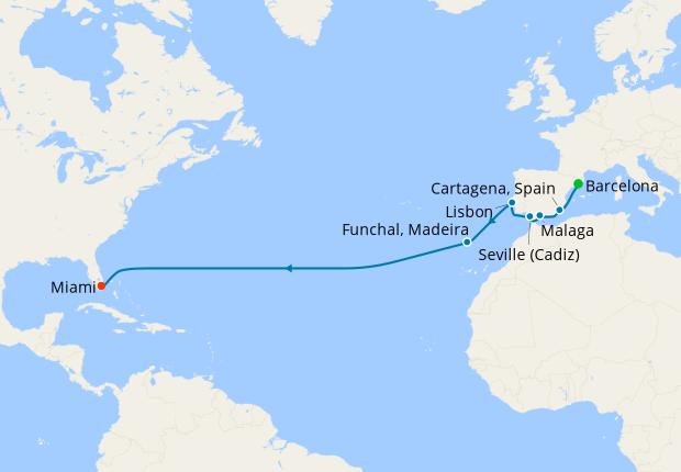 Spanish Farewell from Barcelona