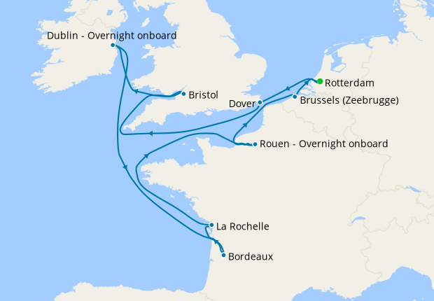 Northern Capitals Explorer from Rotterdam