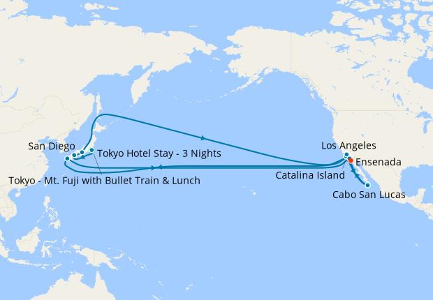 Tokyo Stay, Mt. Fuji, Nagasaki's Spring Flowers, Kyoto's Temples & Shrines & Southern Japan