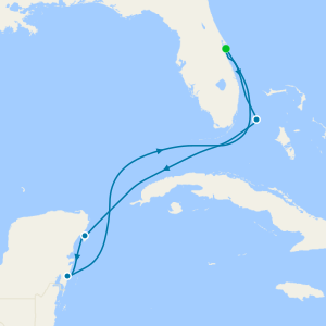 Bahamas & Mexico from Port Canaveral