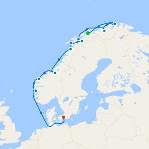 Norway & North Cape - In Search Of Northern Lights from Tromso
