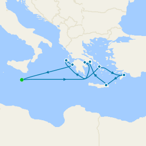 Corinth Canal & Ancient Greece from Malta