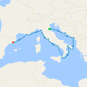 Venice Simplon-Orient-Express, Croatia & Montenegro to Barcelona