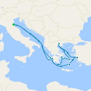 Turkey, Greece, Venice & Lake Garda + Venice Simplon-Orient-Express