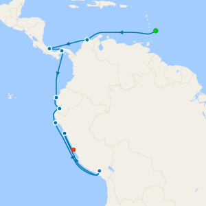 Panama Canal & The Humboldt Route from Bridgetown