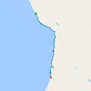 Sailing The Humboldt Route from Callao (Lima)