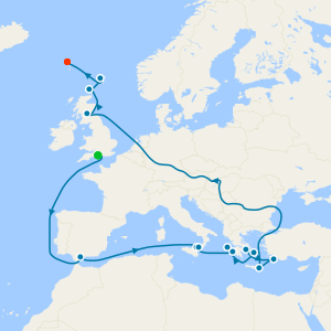 Corinth Canal & Ancient Greece From Southampton