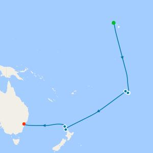 Hawaii, Tahiti & Bora Bora from Honolulu