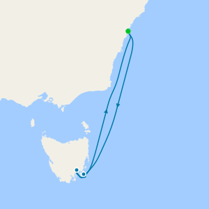 Tasmania from Sydney