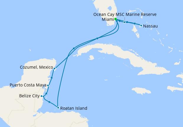 Caribbean Explorer from Miami