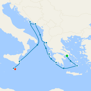 Adriatic Magic & Malta from Athens