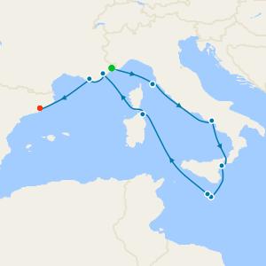 Western Mediterranean Gems II from Monte Carlo