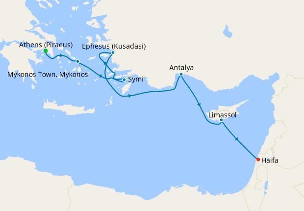 Greek Isles & Turkish Treasures from Athens