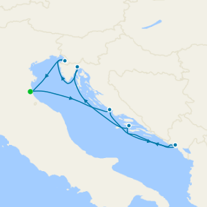 Gems of the Adriatic - Venice Roundtrip